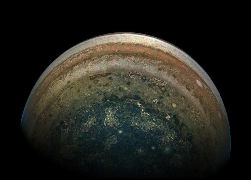 木星近距离特写图集