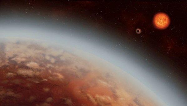 """人类首次在""""超级地球""""的大气层中发现水"""