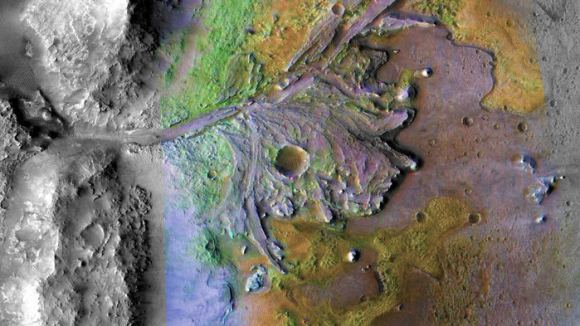 火星2020探测器将前往火星上一个保存化石的完美地点