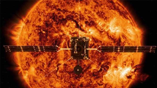 太阳轨道探测器发射,将揭示太阳两极的秘密