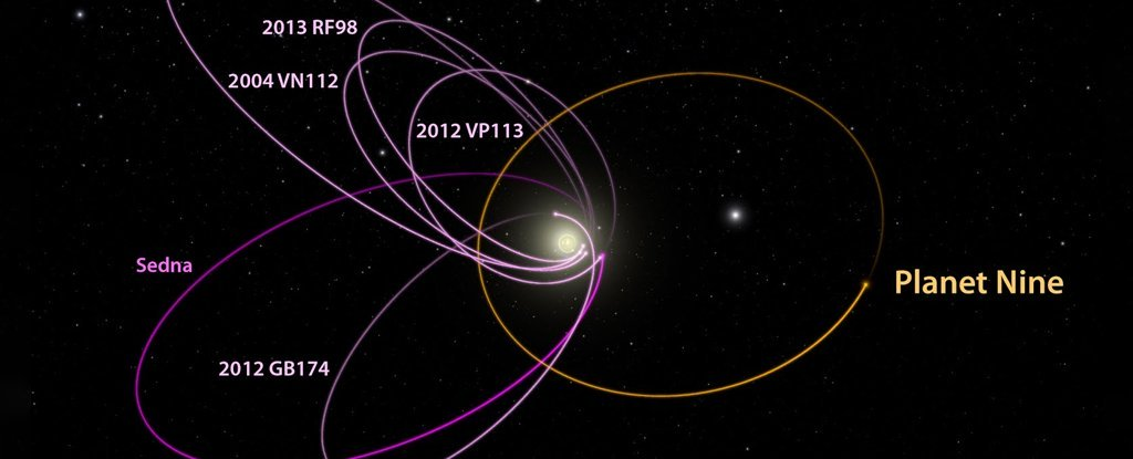 许多天文学家认为太阳系第九大行星可能根本不存在,为什么呢?