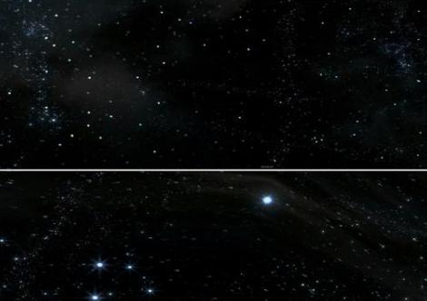 宇宙的颜色是黑的?别被它的表面骗了