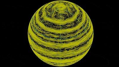 行星际风暴追逐 – 土星上神秘六边形风暴的新解释