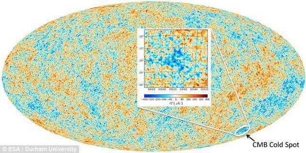 宇宙中的另一个自己:神秘冷斑或为平行宇宙存在证据