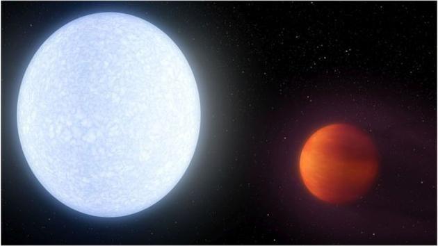 宛如炼狱:宇宙中最不宜居行星温度接近太阳表面!