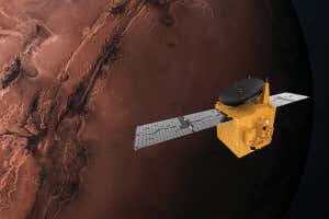阿拉伯联合酋长国希望号太空船即将抵达火星