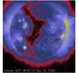 阳光卫星与太阳活动