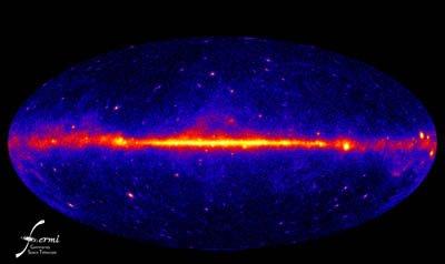 费米空间望远镜的第一年