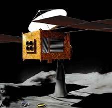 隼鸟号探测器击中目标小行星