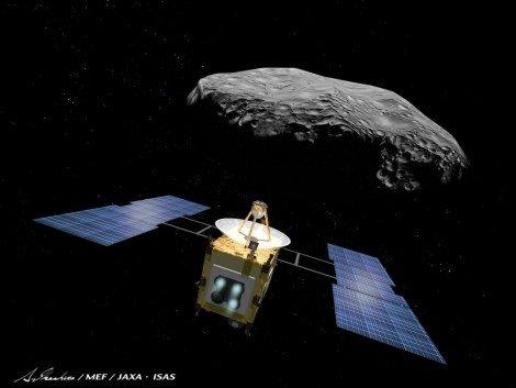 日本的小行星考古学家