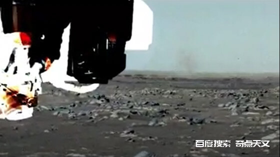 毅力号火星车在火星上首次拍摄到尘卷风