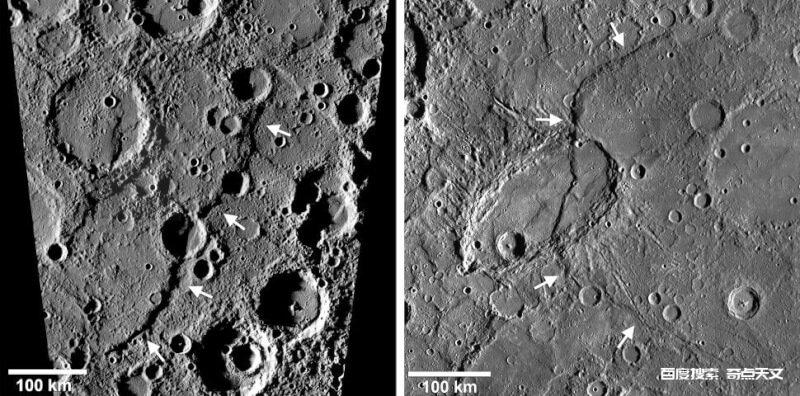 水星的收缩幅度可能没有那么大
