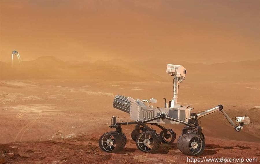 【科学科普】大气压只有地球的0.6%,火星无人机是怎麽飞起来的?