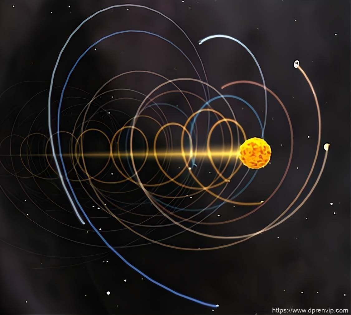 太阳系每年移动70亿公里,北极星却始终在正北方,这是为什麽?