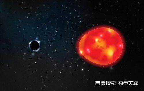 最新发现!距离地球最近的黑洞,质量只有太阳的三倍