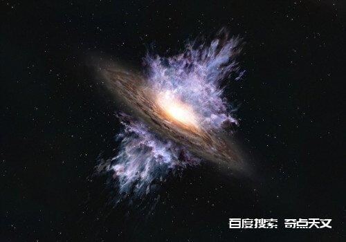 131亿年前吹入星系的超大质量黑洞风暴是观测史上最古老的星系风