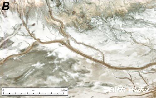 八万亿像素拼接出火星古河道图景:干涸数十亿年