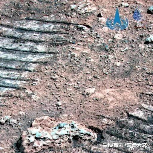 祝融号传回最新火星地貌图像