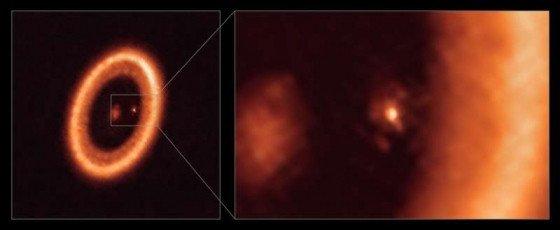 天文学家首次明确探测到系外行星周围的卫星形成盘