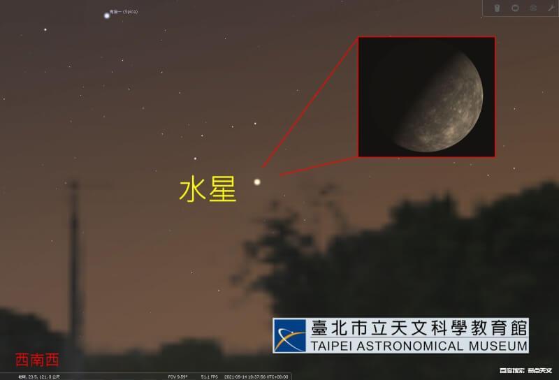 2021/09/14 水星东大距
