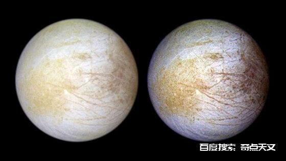 哈勃太空望远镜在木卫二其中一边发现持续存在水汽的证据