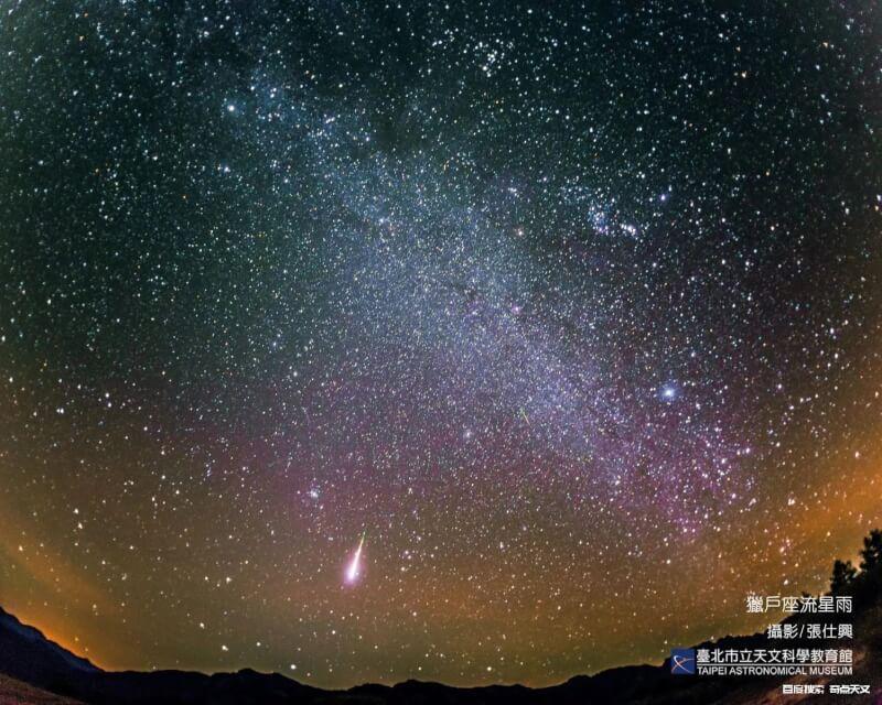 2021/10/20 猎户座流星雨极大期(ZHR~20)