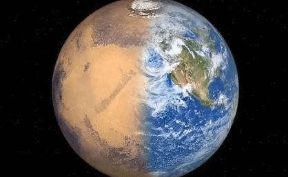 Martian civilization is destroyed by nuclear war prehistoric do?