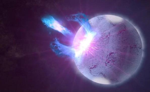 宇宙中最奇葩的星球,磁场超万磁王10亿倍,能让光速变慢!