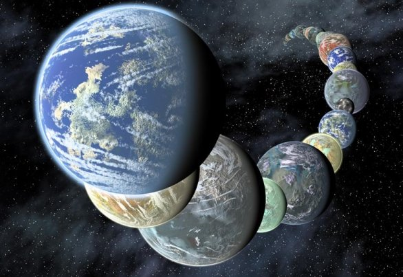 如果外星人在观测地球,他们看到的地球可能是这样的
