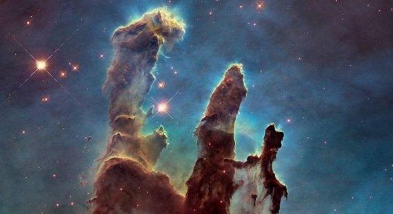 遇见巨型象鼻星云,神秘的空间结构比创生之柱大10倍