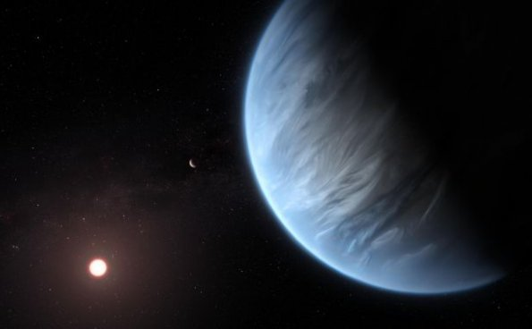 拜访水汪汪的超级地球k2-18b,会是一种什么样的体验?