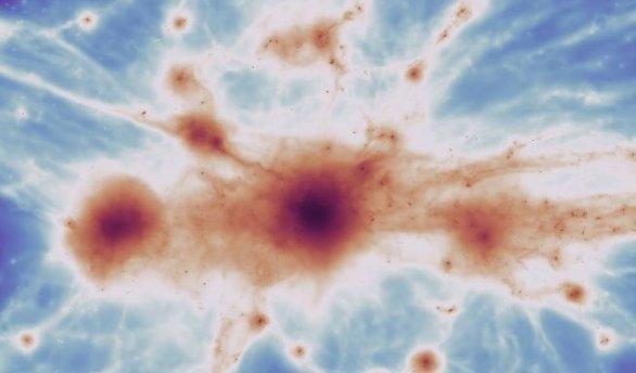 """科学家发现了构成""""宇宙网""""的微弱细丝"""