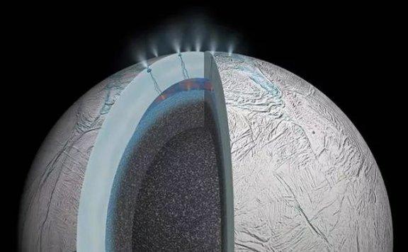 在土星冰封的土卫二的水气羽流中发现的有机化合物