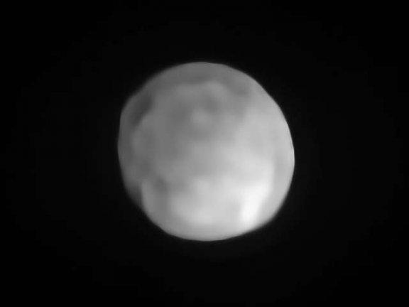 ESO望远镜揭示了太阳系中最小的矮行星