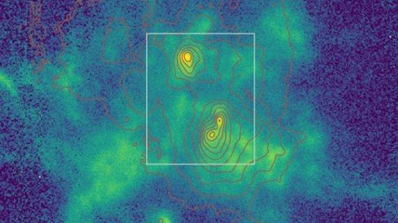 天文学家发现了一个与三个超大质量黑洞合并的星系