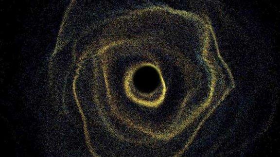 天文学家在银河系中心附近发现了奇怪的气体云运动