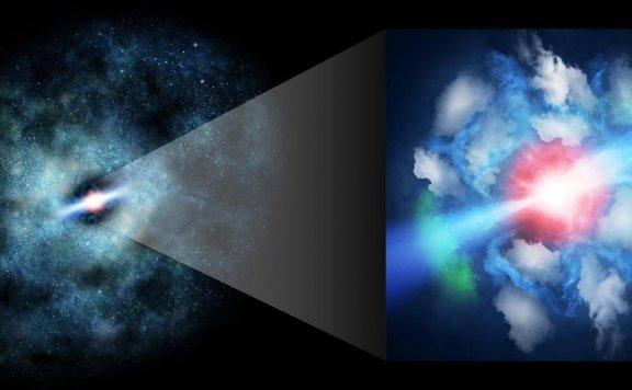 阿塔卡马望远镜有效解决了超大质量黑洞喷流影响的气体问题