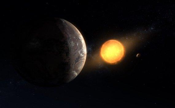 开普勒数据中发现的地球大小的宜居带系外行星