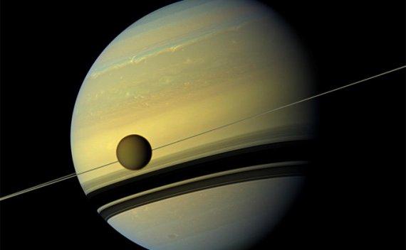 土卫六离开土星的速度比我们预料的要快100倍