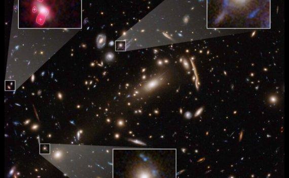 哈伯望远镜发现暗物质理论缺少了某些成分
