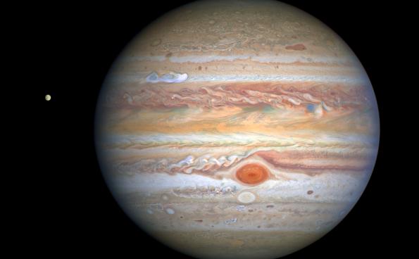 【NASA•每日一图】2020年9月18日木星风暴的新视角
