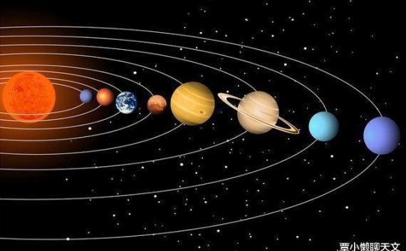 宇宙中的星球一种不停的旋转?