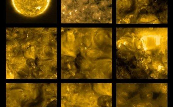 太阳最近距离照片