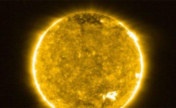 人类史上最近距离拍摄的太阳 画面壮观