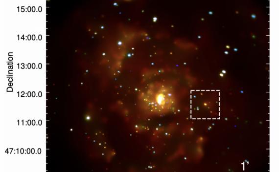 首次在X射线波段发现银河系外行星