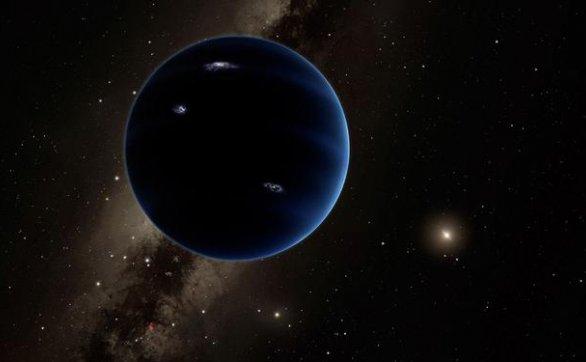 太阳系外围存在一颗巨大的行星