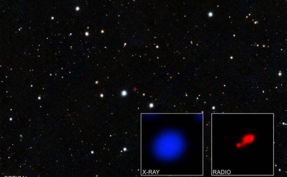 """钱德拉天文台观测到迄今宇宙最早""""隐形黑洞"""""""