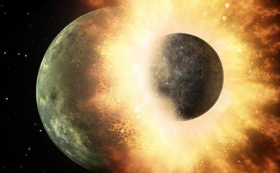 月球形成之谜被解决?形成月球的神秘天体比预想更小