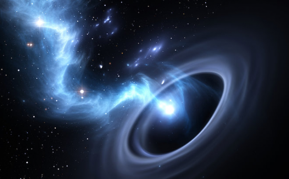 对黑洞的新猜想:吞噬的物质未来可能会被重新抛出