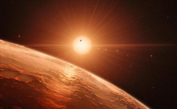 40光年外七行星系统或为水世界 却不适合生命生存
